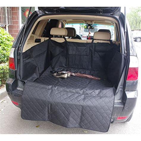 shippingdog pet car cargo liner seat cover  suv cars truck waterproof washable hammock