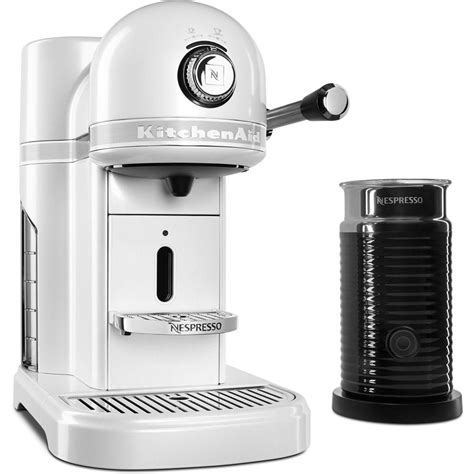 espresso machine kitchenaid kitchenaid nespresso 5 cup espresso machine and milk