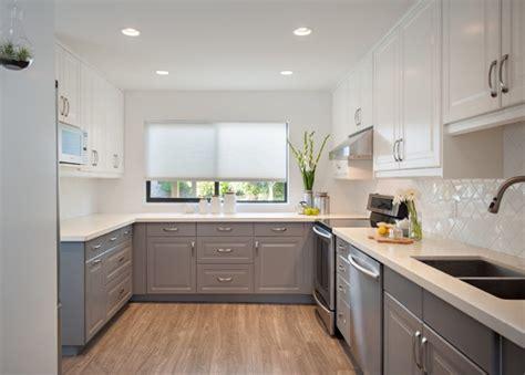 am駭ager une cuisine en l mobilier de cuisine bicolore pour donner vie 224 endroit