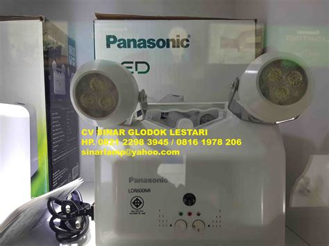 Lu Emergency Merk Panasonic lu emergency 6 x 2w ldr400nr panasonic