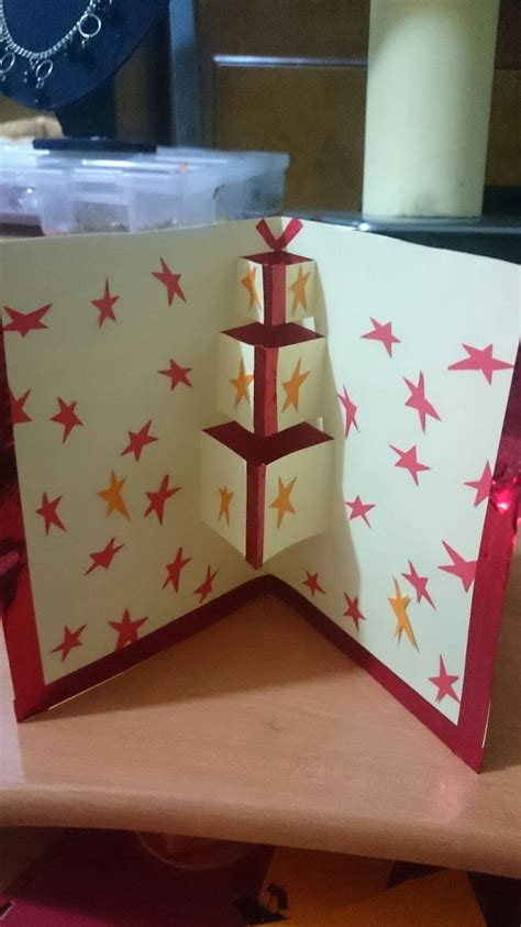 How To Make A Birthday Card Out Of Paper - how to make a pop up birthday greeting card how to make