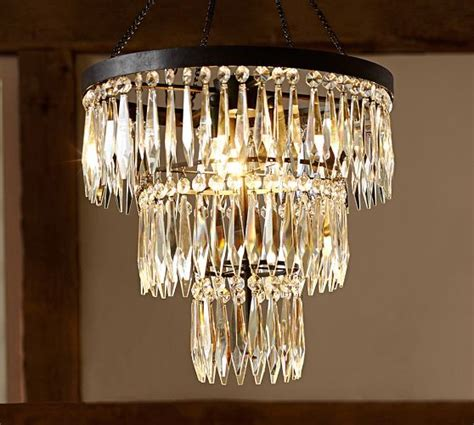 Pottery Barn Chandeliers Adele Large Chandelier