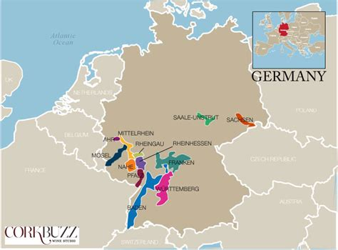 map germany regions germany wine region map wine wine wine