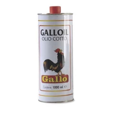 Olio Cotto Per Legno by Olio Lino Cotto 1 Lt Gallo