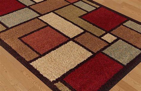 shaggy contemporary area rugs multi color contemporary blocks shag area rug modern squares shaggy carpet