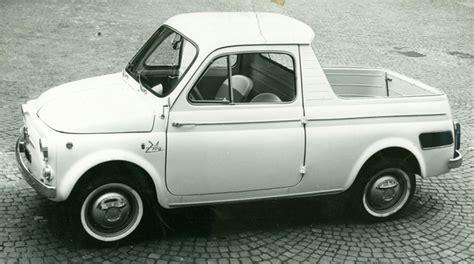 it s a 500mino 1962 fiat 500 ziba styled by ghia