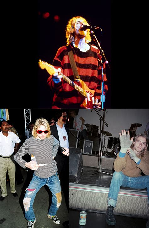 Wanna Buy Kurt Cobains Clothes Talk To by Style Icon Kurt Cobain Mens Fashion Magazine
