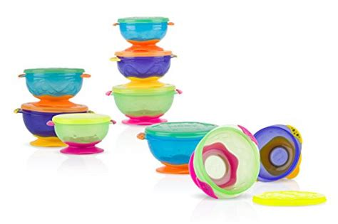 Nuby Garden Fresh Mash N Feed 4m nuby stackable suction bowl with lid pack of 3 multi