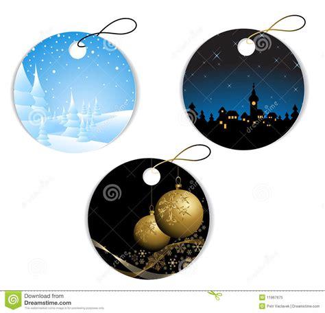 imagenes navidad redondas etiquetas redondas de la navidad y del invierno foto de