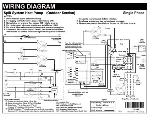 nordyne heat wiring diagram the knownledge