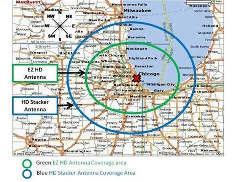 hd antenna map tv antenna map map3