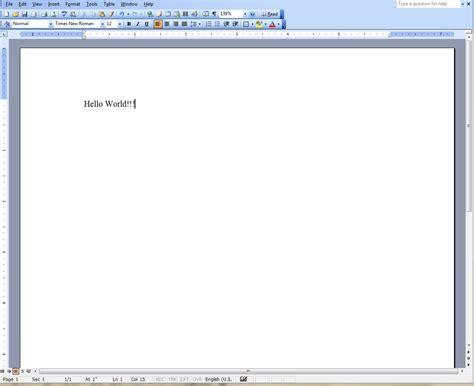 Ofice Word Microsoft Word 2003 Images