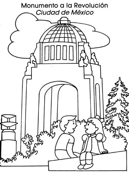 dibujos de la revolucion mexicana para nios holidays oo colorea tus dibujos monumento a la revoluci 243 n ciudad de