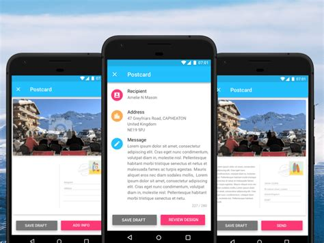 layout app review android material design app templates free resources for