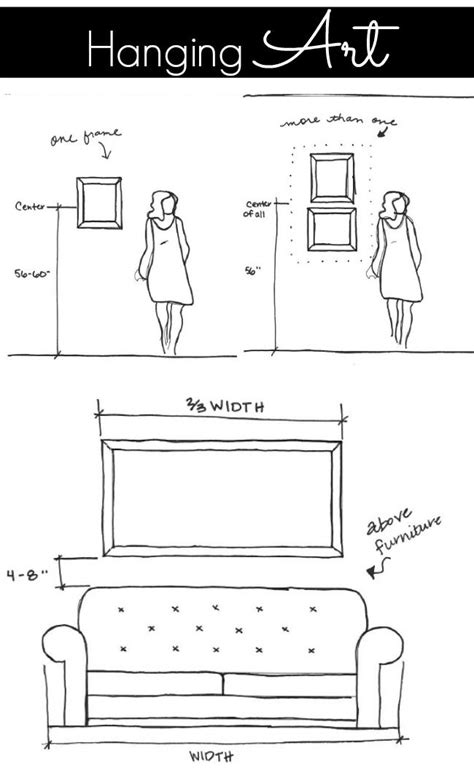 proper height to hang pictures on wall 25 best ideas about mirror hanging on pinterest small