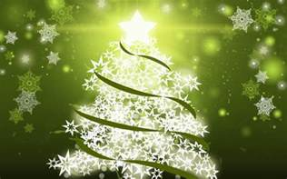 christmas tree snowflakes wallpaper free desktop wallpaper