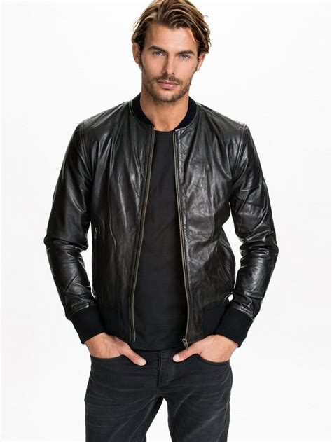Coklat Jaket Leather Style 14 driggs leather jacket selected homme black jackets