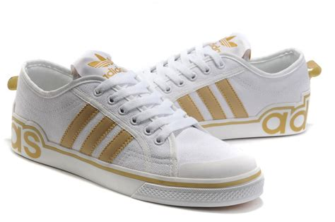 sport adidas ad228 shoes white gold low price