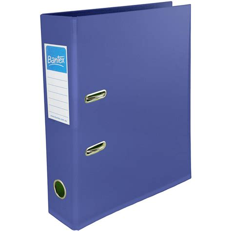 Jual Bantex File Holder by Bantex Lever Arch File 70mm A4 Blue Office National
