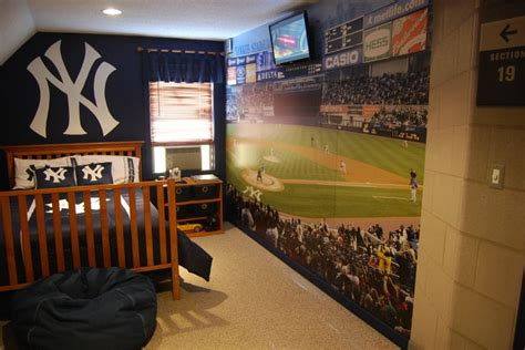 baseball stadium wall mural 1000 images about yankees bedroom on new york yankees size bedding and yankee