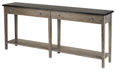 Farmhouse Console Table Westrow Console Large Farmhouse Console Tables By Currey Company Inc
