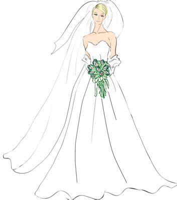 June Wedding Clipart by June Wedding Clip Beautiful Wedding And Brides