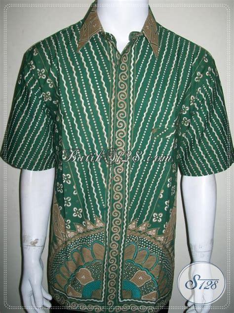 Gamis Batik Tulis Hijau kemeja batik pria elegan warna hijau batik tulis motif