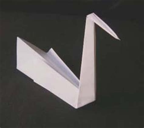 Make A Swan Out Of Paper - origami swan folding how to fold an origami