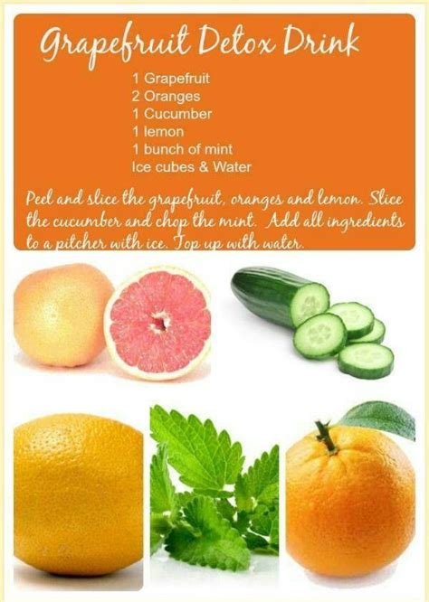 Grapefruit And Lemon Juice Detox Weight Loss by Grapefruit Detox Drink Food For The Soul