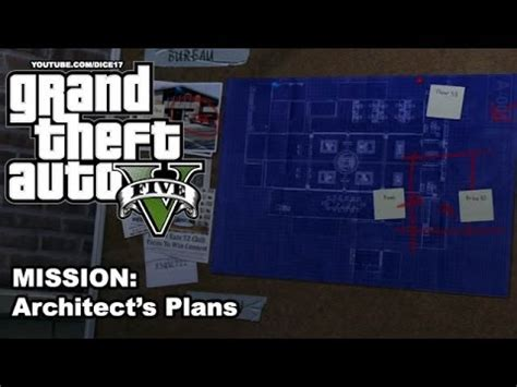 gta 5 gameplay walkthrough [mission 52] architects plan
