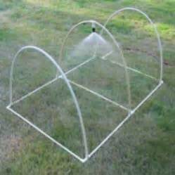 Pvc Trellis Systems Diy Pvc Pipe Sprinkler Perhaps Use This Design To Add