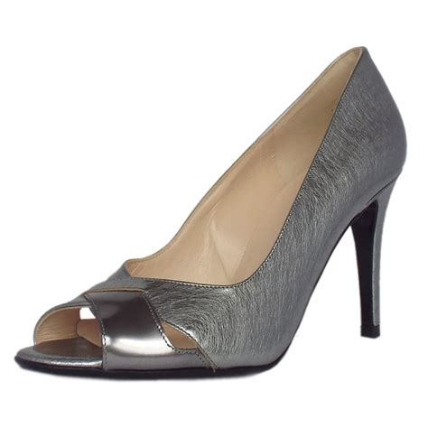 high heel steel toe shoes kaiser alda s dressy high heel peep toe