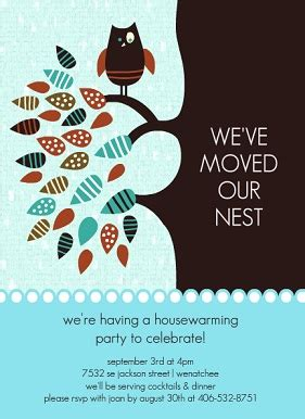 housewarming gift card template housewarming invitations and moving announcements from