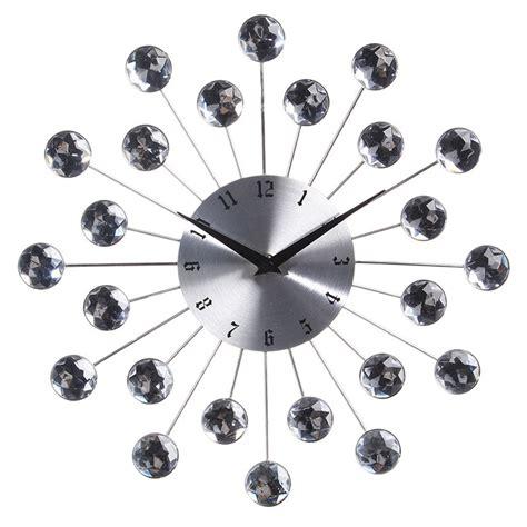 pendule horloge design pendule murale design quot strass quot 33 5cm