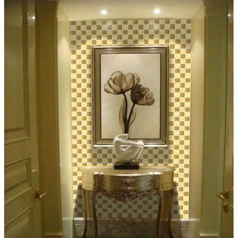 Mosaic Bathroom Wall by Glass Mirror Mosaic Tile Sheets Gold Mosaic Bathroom