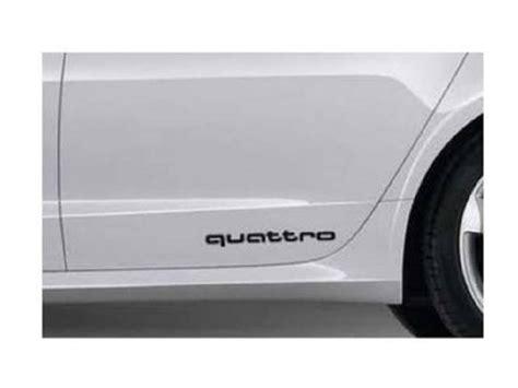 Audi Quattro Decals by 2015 Audi S5 4g0064317 Quattro Decal