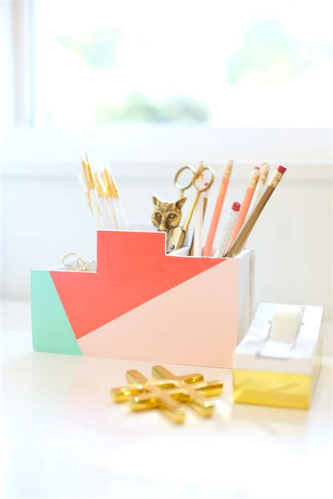 diy back to school desk organizer 187 lovely indeed