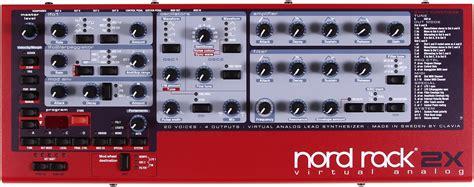 clavia nord rack 2x image 285937 audiofanzine
