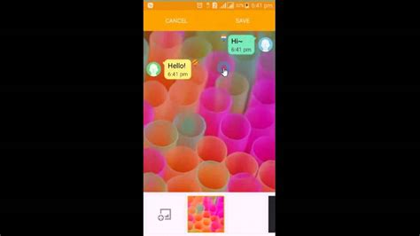 text message backgrounds change your message background