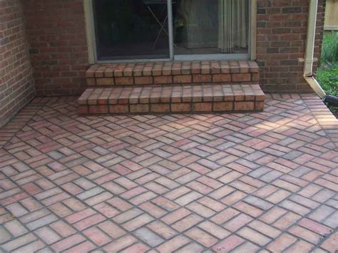 How To Build A Patio With Bricks by Brick Patios Professional Work Silver Md