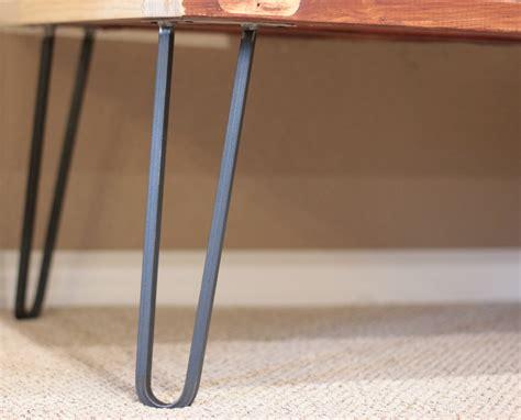 hairpin table legs square bar hairpin legs modern legs