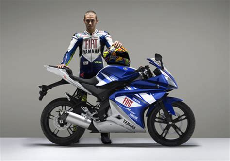 Yamaha Yzf R125 Fiat Aufkleber by Yamaha Releases Replica R125