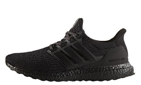 Adidas Ultraboost All Black adidas ultra boost 3 0 black cg3038 the sole supplier