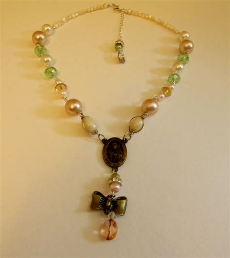 Handmade Pearl Necklaces - handmade necklace freshwater pearl necklace antique