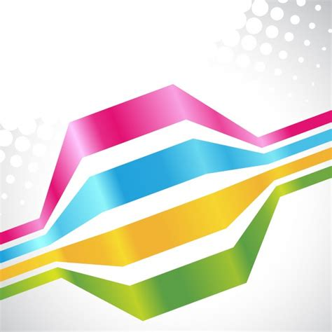 colorful lines colorful lines on white background vector free