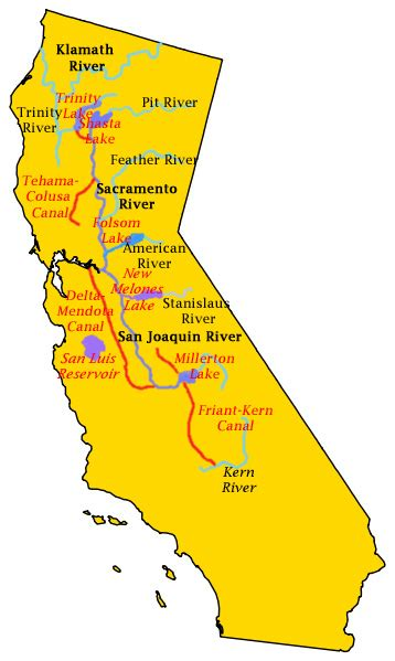 central valley california map an exle of the application of the bottom up resource