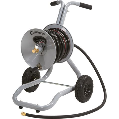 Garden Hose Reels by Strongway Garden Hose Reel Cart Holds 5 8in X 150ft