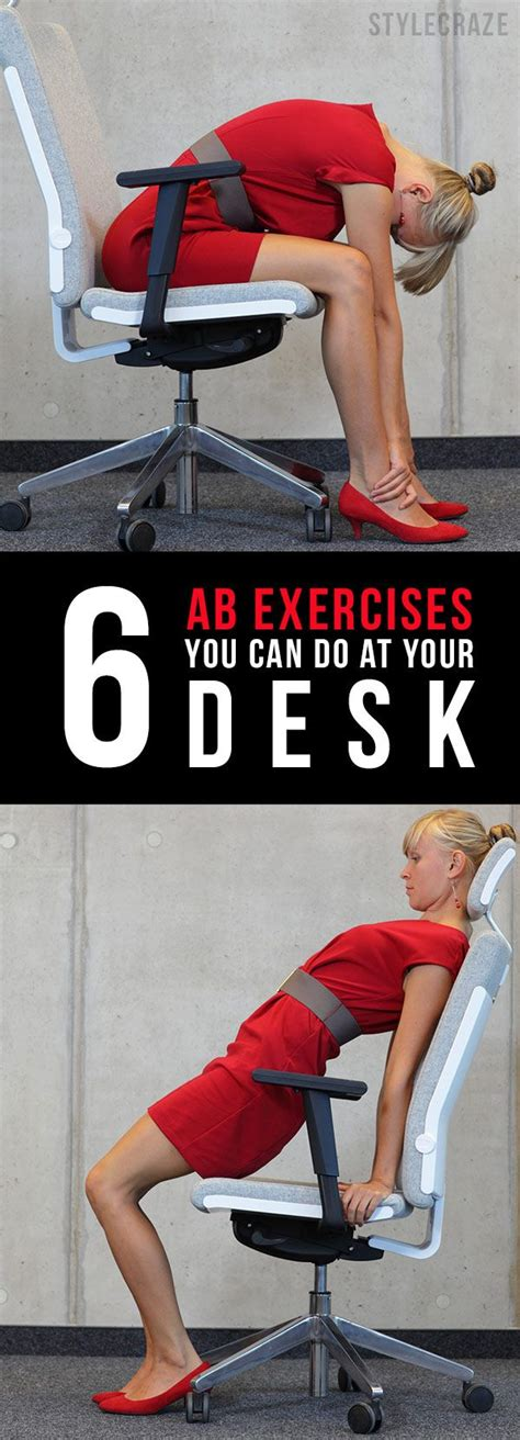 16 simple exercises to reduce belly easy abs exercises and desks