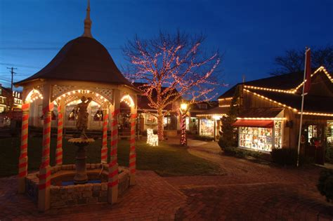 the peddler s village grand illumination celebration