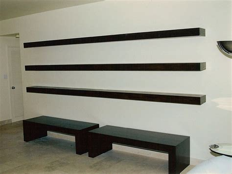 4pcs Rak Dinding Ambalan Floating Shelf Custom Floating Shelves By Ezequiel Rotstain Design